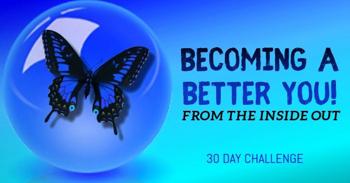 BABY 30 DAY CHALLENGE delt Facebook-billede template