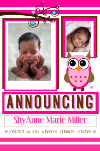 Baby Announcment