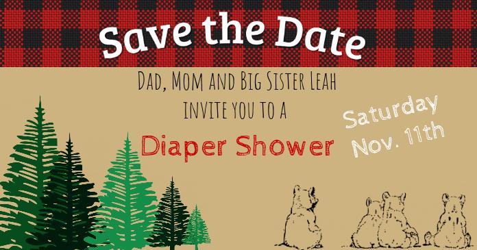 Baby Bear Facebook Banner Template Postermywall