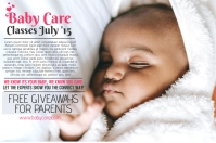 Baby Care Poster Template