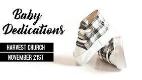 Baby Dedication/Christening Digital Display (16:9) template