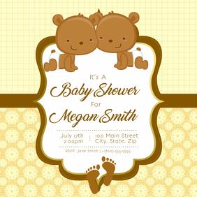 Baby Shower Instagram