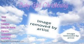 7 240 Christening Invitation Card Template Customizable