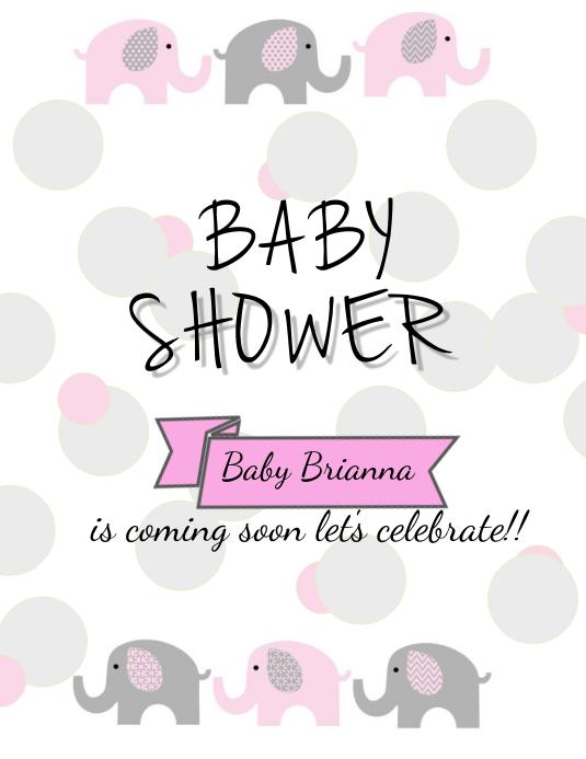 Baby Girl Coming Soon