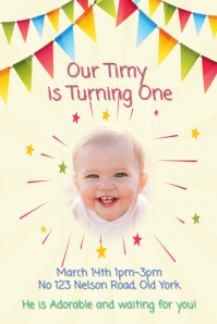 Baby One year old Party