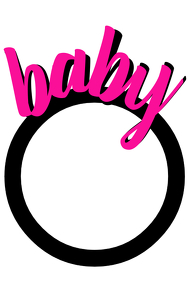 Baby Party prop Frame