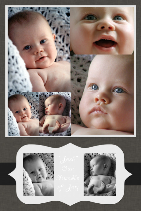 Family Collage - Baby