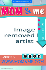 Baby Shop Poster Template