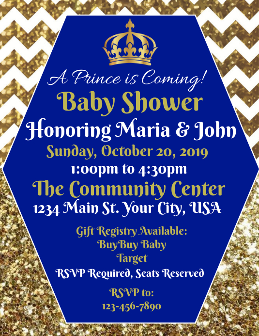 Baby Shower (Boy)