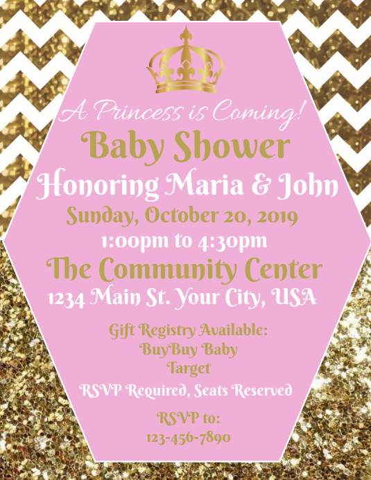 Baby Shower (Girl)
