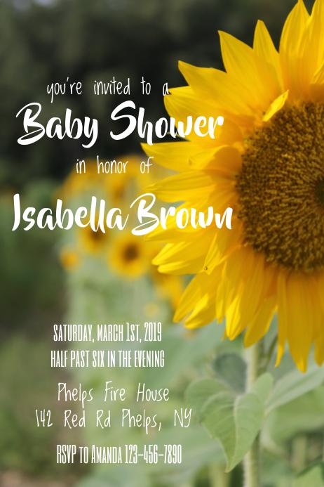 Baby Shower Flower