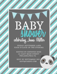 baby shower flyer