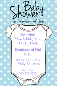Customizable Design Templates for Baby Shower Party | PosterMyWall