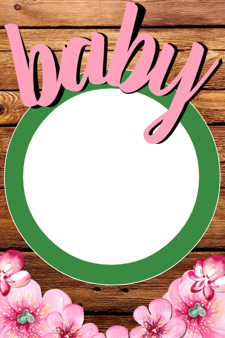 Baby Shower Frame Template | PosterMyWall