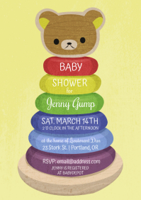Baby Shower Gender Neutral Invitation