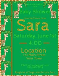 Baby Shower Giraffe