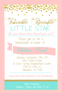 5 000 Customizable Design Templates For Baby Shower Invitation