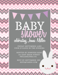 Baby shower flyer insrenterprises baby shower flyer customizable design templates pronofoot35fo Gallery