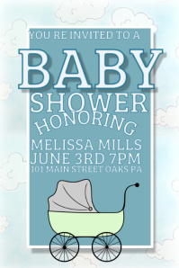 customize 800 baby announcement design templates