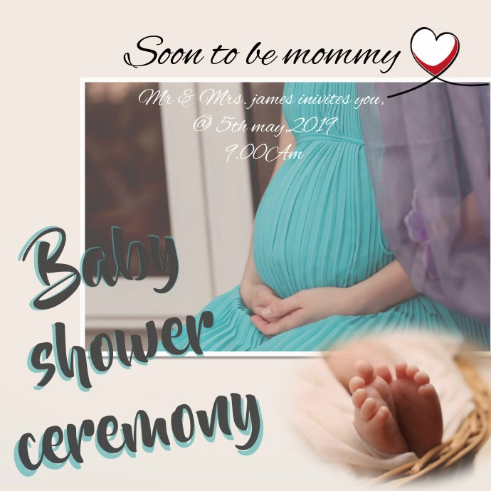 baby shower template