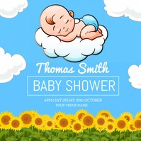Baby Shower Video Poster