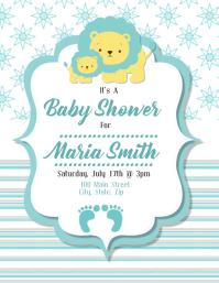 Lion Baby Shower