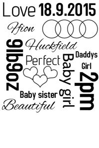 baby weight date birth