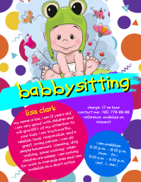 Babysitting Flyer