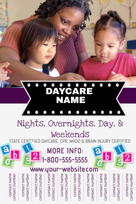 Babysitting Flyer Template | Postermywall