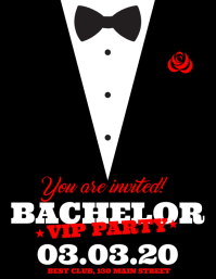 BACHELOR PARTY FLYER