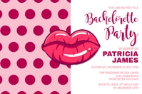 Bachelorette Party Invitation Tatak template