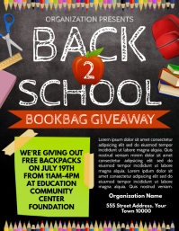 Back 2 School Flyer (US Letter) template
