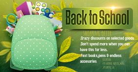 Back 2 school facebook cover
