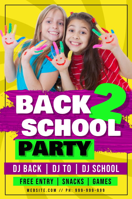 Back 2 School Poster