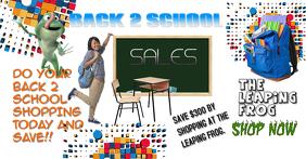 Back 2 school sales