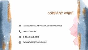 BACK COLOR BUSINESS CARD LOGO DESIGN template