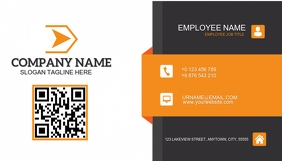 BACK OF BUSINESS CARD LOGO TEMPLATE