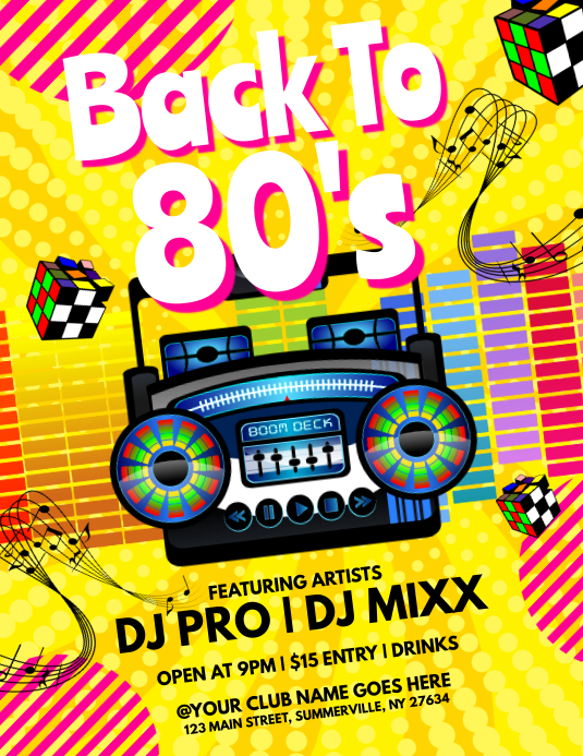 copy of back to 80s flyer