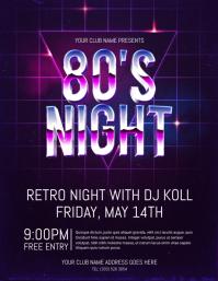 80s Night Flyer