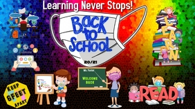 Back To School! Twitter-bericht template