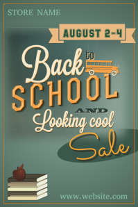 Back to School & Looking Cool Poster
