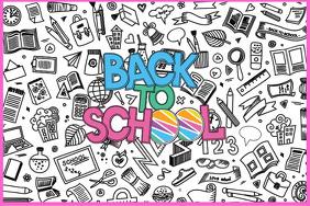 Back to School Backdrop