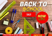back to school A5 template
