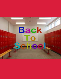 Back to School Iflaya (Incwadi ye-US) template