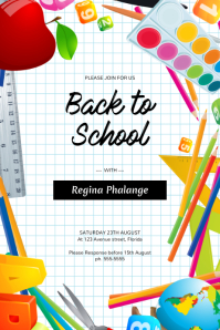 4 270 Back To School Customizable Design Templates Postermywall