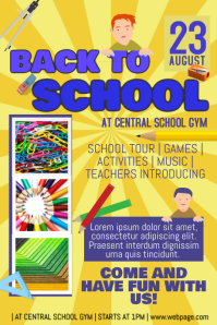 back to school event introducing first september template