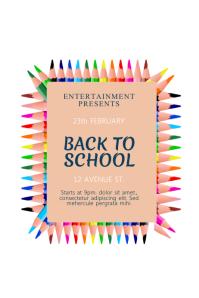 school event flyer templates
