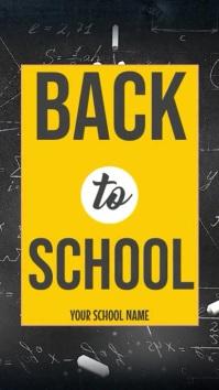 Back to School Instagram Story