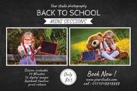 Back To School Photography Mini Session Tatak template