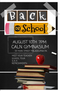 2,570+ Customizable Design Templates for Back To School | PosterMyWall